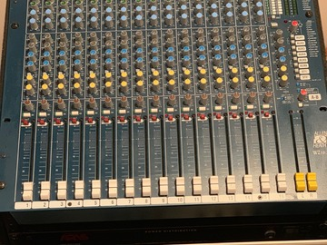 SOLD!: SOLD $800 Allen Heath Mix Wizard Mixing Board with Flight Case
