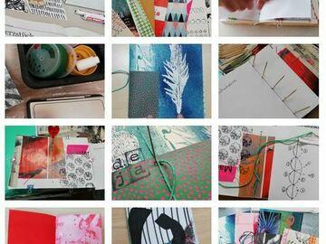 Workshop Angebot (Termine): Mark making & Buchbinden