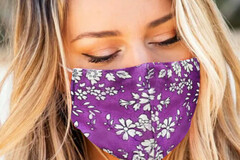 Buy Now: Floral Print Washable Outdoor Protection Face Mask