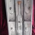 Vente au détail: Coffret dégustation verres et bouteille