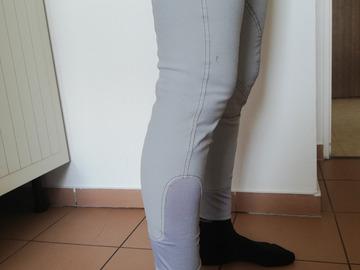 Vente: Culotte de cheval Equithème grise