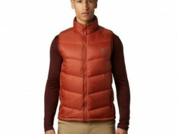 Selling with online payment: [34% off] Mountain Hardwear M's Mt. Eyak Down Vest Size M