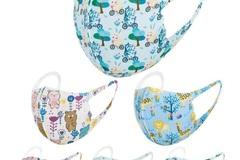 Buy Now: 50 pcs kids face mask washable reusable