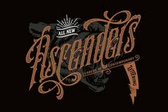 Selling with online payment: Ascenders Volume.1: Leaders in Contemporary Lettering
