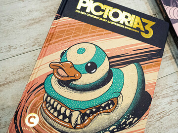 Selling with online payment: Pictoria Volume. 3: The Best Contemporary Illustrators Worldwide