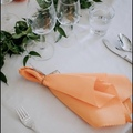 Ilmoitus: n. 100kpl oransseja kangasservettejä