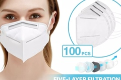 Buy Now: [300 PCS] KN95 Protective Face Mask FFP2 95% PM2.5 Disposable