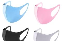 Buy Now: 100 pcs face mask adult washable reusable