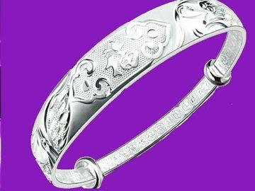 Buy Now: 50x Dragon Pheonix Women's 925 Sterling Silver Bracelet Bangle