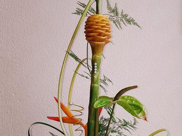 Vente avec paiement en ligne: Compositions florales de fleurs tropicales