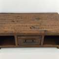For Sale: WOODGATE Rustic Solid Wood 2 Drawer Coffee Table