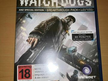 Selling: Watch Dogs (PS4)