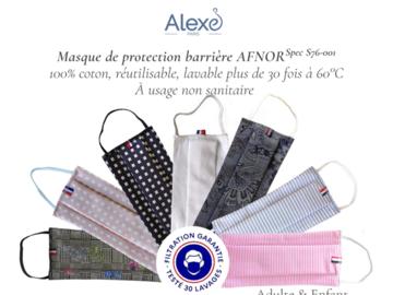 Vente: Masques lavables fabrication française