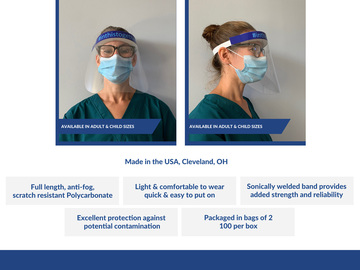 Sell your product: Face Shield
