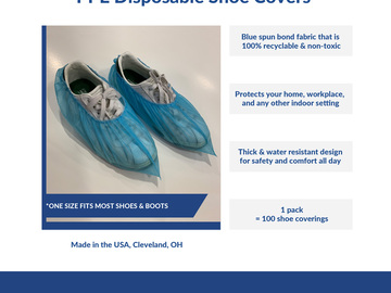 Sell your product: Shoe Covers
