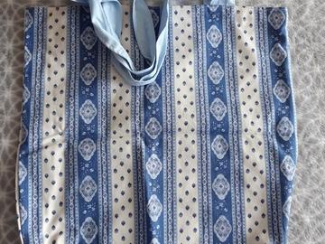 Vente au détail: Sac tote bag bleu écologique