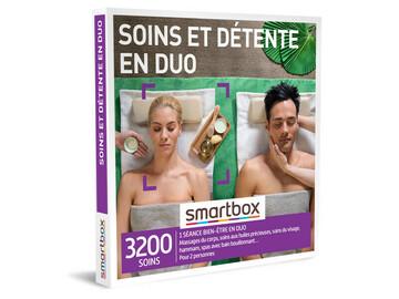 """Vente: Coffret Smartbox """"Soins et Détente en Duo"""" (69,90€)"""