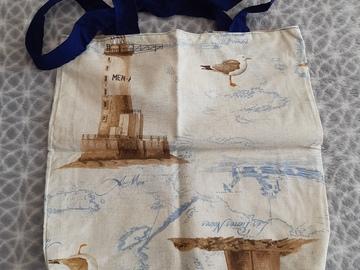 Vente au détail: Sac tote bag marin écologique
