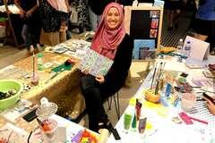 In-Person & Online: Huda Nejim - Art Teacher
