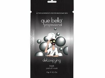 Liquidation/Wholesale Lot: Que Bella Detoxifying Black Peel Off Mask 0.24 Oz.