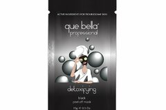 Buy Now: Que Bella Detoxifying Black Peel Off Mask 0.24 Oz.