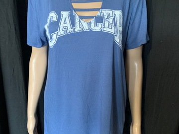 "Buy Now: Lot of 25 Modern Lux ""Cancer"" GRAPHIC Tees"