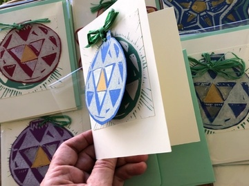 Selling with online payment: Holiday Christmas Card + Ornament