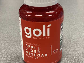 Selling with online payment: Goli Apple Cider Vinegar Gummies