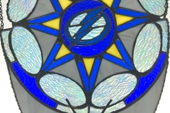 Selling with online payment: Lightning Stained Glass