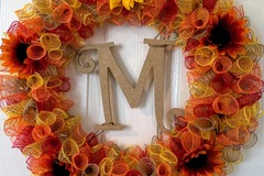 Selling with online payment: Mabon/Fall Wreath