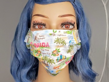 Selling with online payment: Florida Print Face Mask