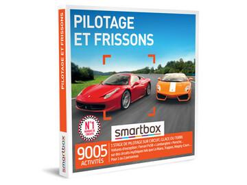"""Vente: e-coffret Smartbox """"Pilotage et Frissons"""" (99,90€)"""
