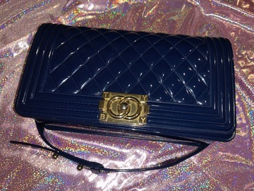 Selling: Authentic Toyboy Jelly Classic 25Cm Lady Bagoptic Blue