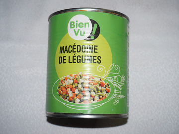 Don: Macédoine de légumes 800 gr