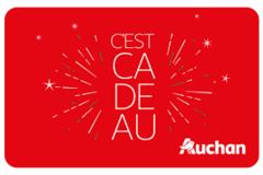 Vente: Carte Cadeau Auchan (110€)