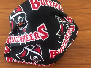 Selling with online payment: Buccaneers Retro Face Mask