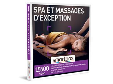 """Vente: e-coffret Smartbox """"Spa et massages d'exception"""" (99,90€)"""