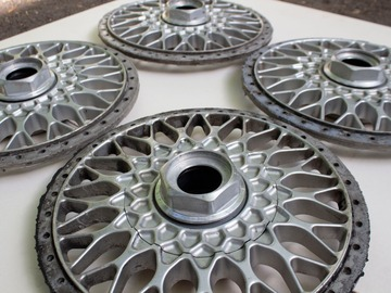 Selling: bbs rs 302 faces 17' 5x120