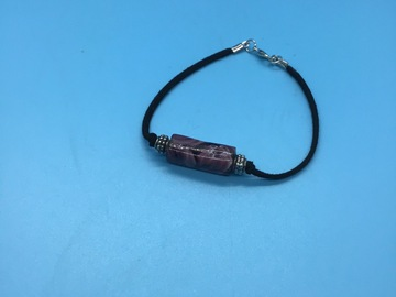 Selling with online payment: Lampwork Beads & Cord Bracelet