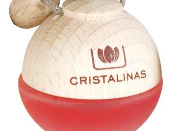 Compra Ahora: (20 Pack) Cristalinas Car Air Freshener from Spain- Red Delicious