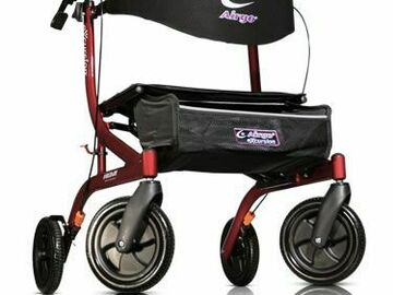 SALE: Airgo eXcursion X18 Hemi Height Lightweight Side-fold Rollator Cr