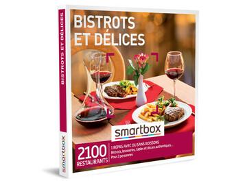"""Vente: e-coffret Smartbox """"Bistrots et délices"""" (49,90€)"""