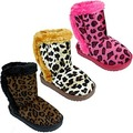 Buy Now: LOT OF  BABE 36 GIRLS ANIMAL PRINT WINTER BOOTS