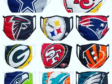 Selling with online payment: NFL themed fashion mask
