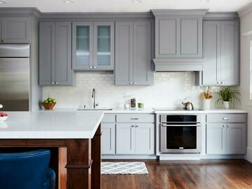 Offering without online payment: A Brush of Color Kitchen Cabinet Painters in Maple Grove