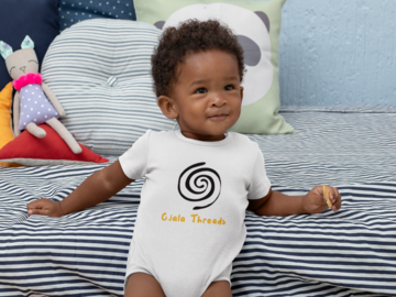 Products: Unique onesies inspired by Hispanic heritage.