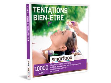 """Vente: Coffret Smartbox """"Tentations bien-être"""" (29,90€)"""