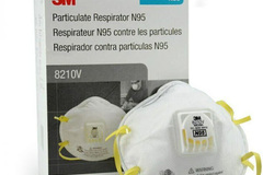 Buy Now: AUTHENTIC 3M 8210V Disposable N95 Respirator Face Masks, 4 boxes