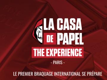 Actualité: La Casa de Papel comme escape game à Paris
