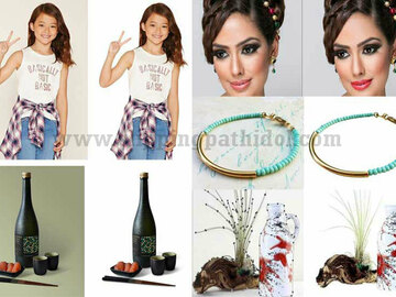 Offering with online payment: 20 images Clipping path